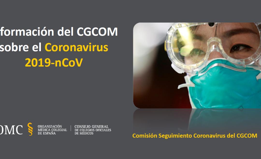 Guía de información del CGCOM sobre el Coronavirus