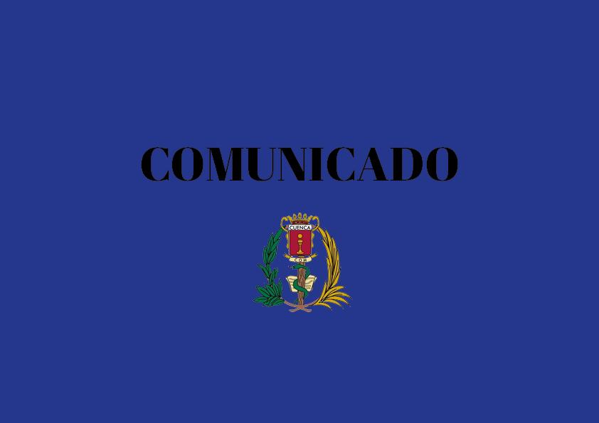COMUNICADO. Situación Covid-19 en el Hospital Virgen de la Luz de Cuenca