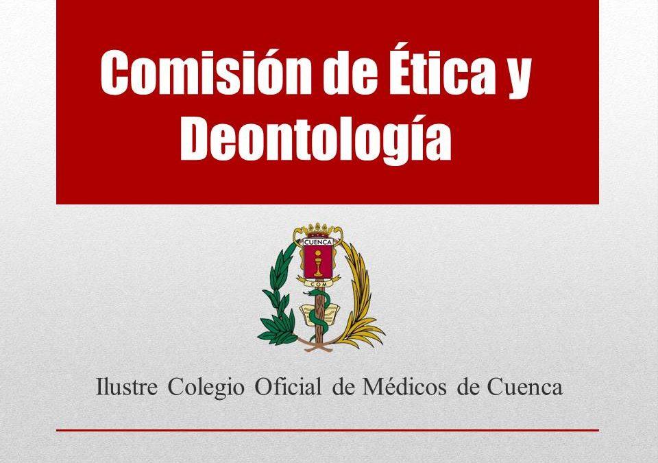 Comunicado de la Comisión de Ética y Deontología del ICOMCU, ante la pandemia de Covid-19