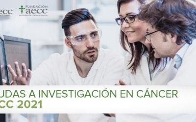 Ayudas a Investigación en Cáncer 2021