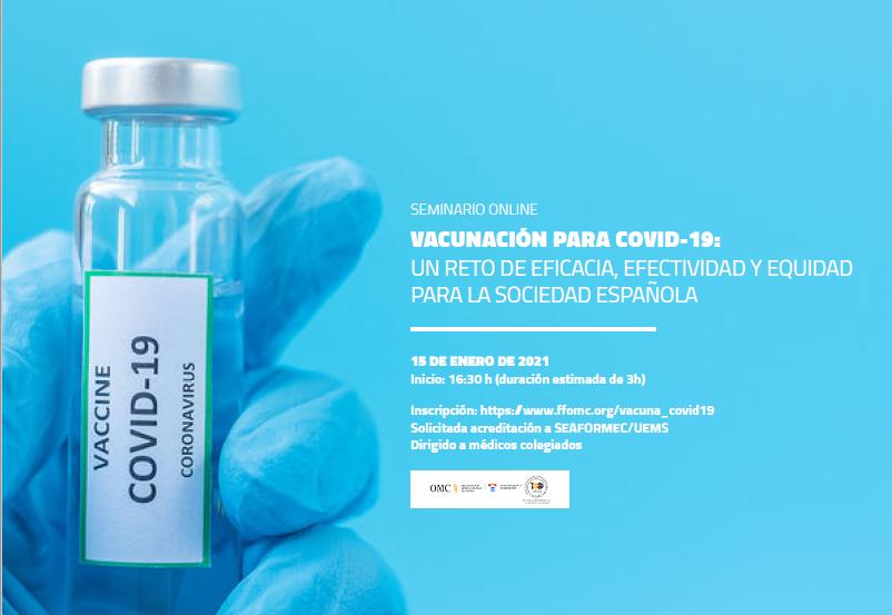 Seminario Online: Vacunación para Covid-19