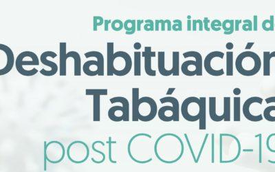 Programa Integral de Deshabituación Tabáquica post COVID-19