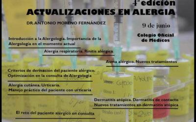 4ª edición Curso de Actualizaciones en Alergias
