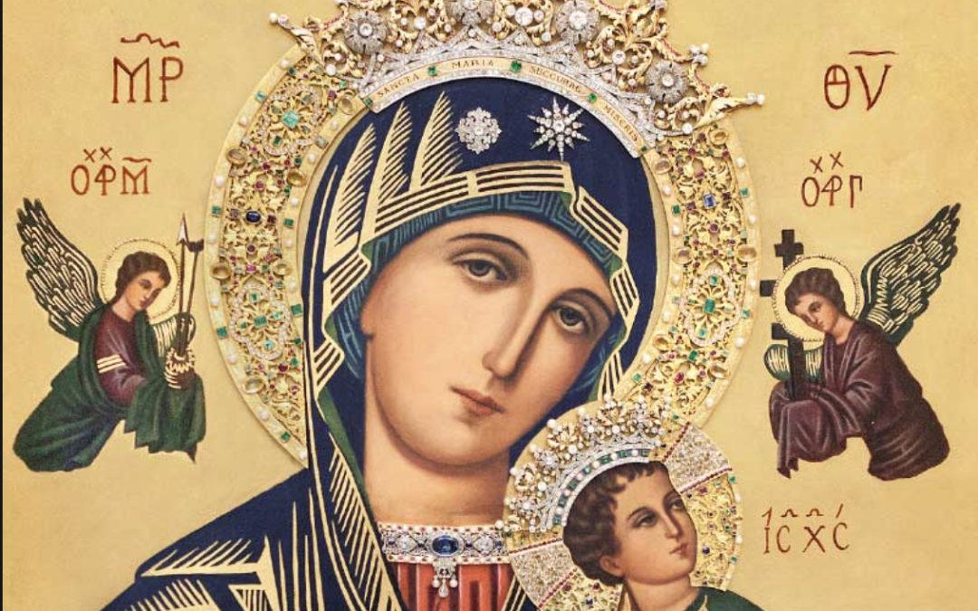 Programación de Actos 'Festividad Nuestra Señora del Perpetuo Socorro'