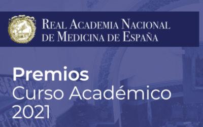 Programa de Premios 2021 de la Real Academia Nacional de Medicina de España